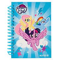 Блокнот на спирали Kite My Little Pony LP19-222, А6, 80 листов, нелинованный