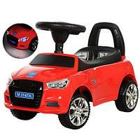 Каталка-толокар Audi красный