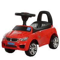 Машинка-толокар BMW красный