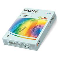 Цветная офисная бумага Maestro Color BL29  Blue (голубой) А4  80г/м2  500