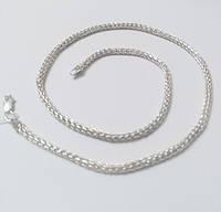 Цепочка из серебра, размер 50 см, Колос, фото 1