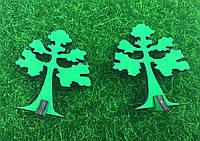 Миниатюрное дерево Зеленое
