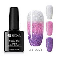 Термо гель-лак для ногтей маникюра термолак 7.5мл UR Sugar, UR-02/1