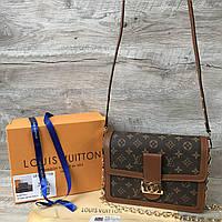 Женская кожаная сумка Louis Vuitton Луи Виттон, фото 1