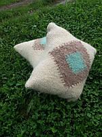 Подушки з овечої шерсті ручної роботи