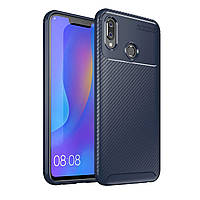 Чехол Carbon Case Honor Play Синий