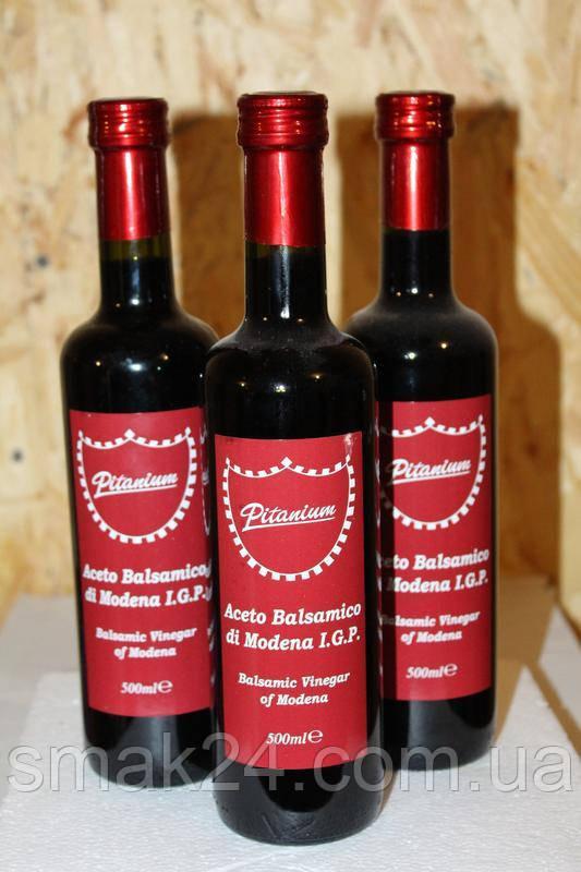 Бальзамический уксус Aceto Balsamico di Modena 6% Pitanium Италия 500мл