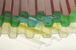 Профільований полікарбонат або прозорий Шифер