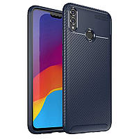 Чехол Carbon Case Honor 8X Синий