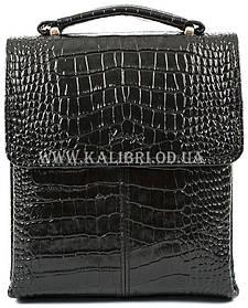 Розпродаж! Чоловіча сумка через плече шкіра Karya 0811-53 чорний Туреччина