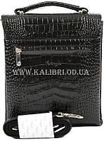 Розпродаж! Чоловіча сумка через плече шкіра Karya 0811-53 чорний Туреччина, фото 3