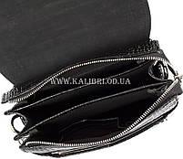 Розпродаж! Чоловіча сумка через плече шкіра Karya 0811-53 чорний Туреччина, фото 6