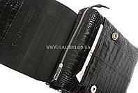 Розпродаж! Чоловіча сумка через плече шкіра Karya 0811-53 чорний Туреччина, фото 5