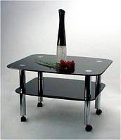 Журнальный стол Maxi Lt dx 800/680 (2) черный