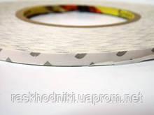 Двухсторонний скотч для тачей белый 5мм/3M