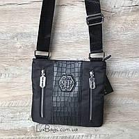 Мужская стильная сумка Philipp Plein, фото 1
