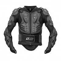 MADBULL TURTLE Protective Jacket Black, S Моточерепаха защитная мужская