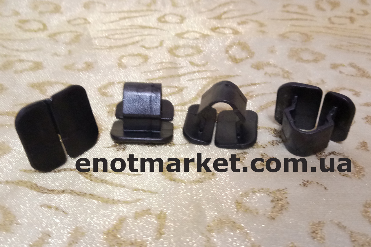 Нажимное крепление тепло-шумоизоляции капота Seat, Skoda, VW, Audi. ОЕМ: 1H586384901C, 1H5863849A, 1H5863849A0