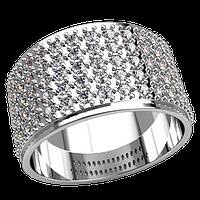 Модное серебряноеженское кольцо Дар Богов придаст вам богемного блеска