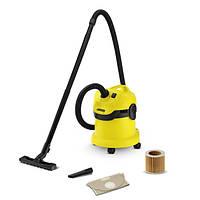 Пылесос сухой и влажной уборки Karcher WD 2 Cartridge filter
