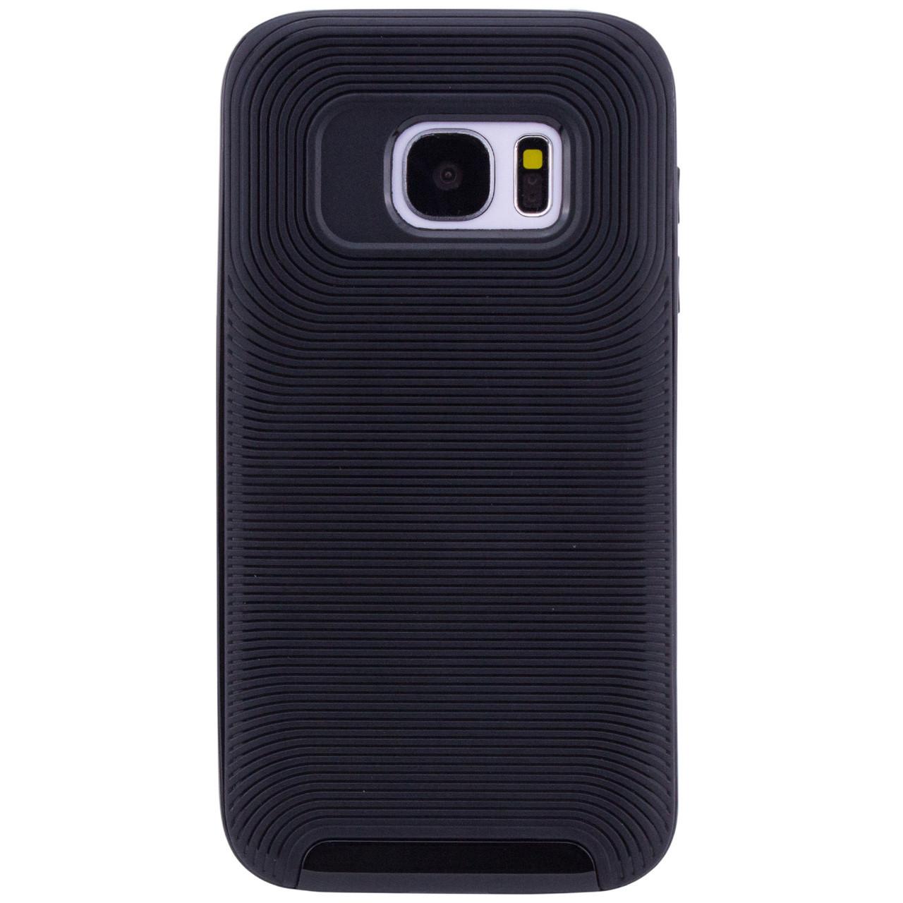 Чехол 1TOUCH Deen Waves для Samsung G930F Galaxy S7 (Черный)