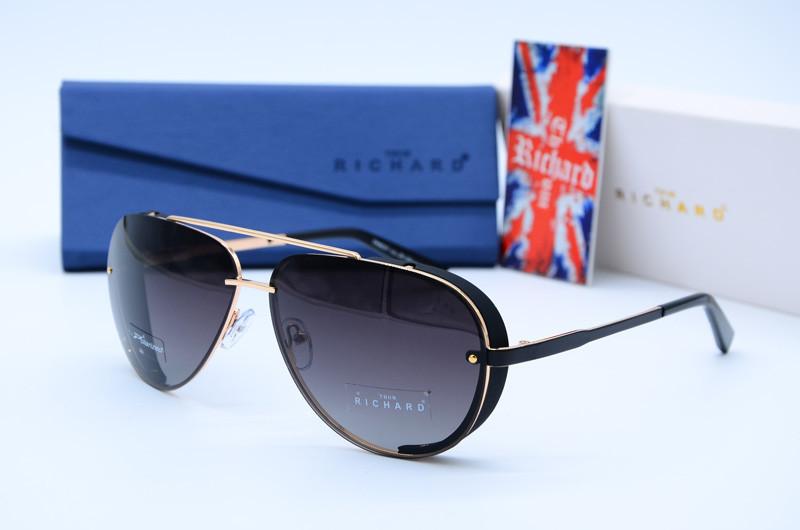 Мужские фирменные солнцезащитные очки Авиатор Thom Richard 9031 c25 G4