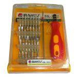 Набор инструментов BAKKU bk-3032, пинцет, рукоятка, 30 наконечников, фото 3
