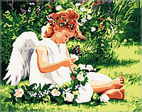 Раскраска по цифрам Идейка В райском саду40 х 50 см(KH310)