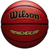 Мяч баскетбольный Wilson Avenger 295 BSKT OR размер 7, резиновый, для улицы и зала, цвет - коричневый
