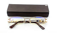 Очки женские для зрения с диоптриями +/-, антибликовые.