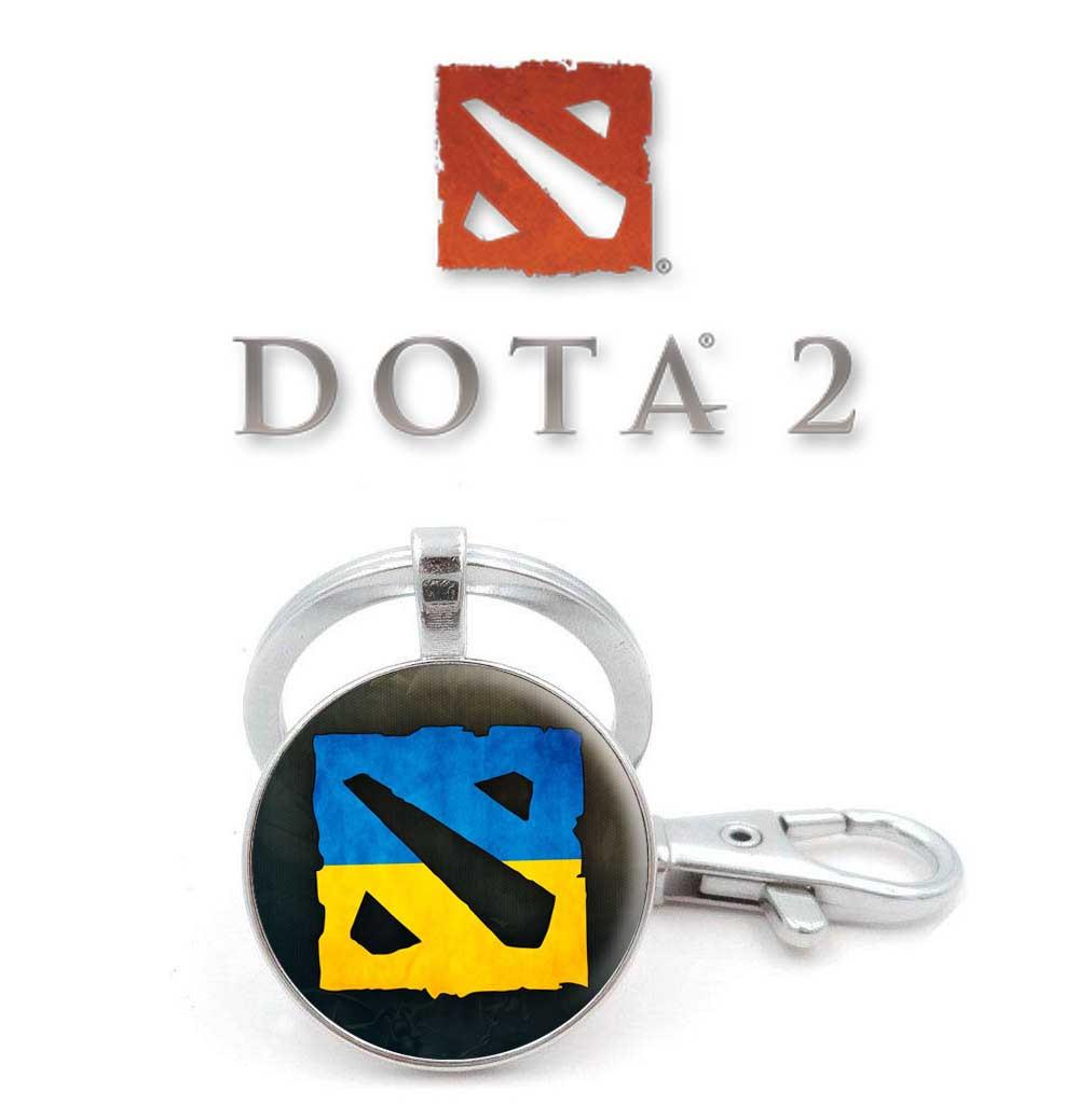 Брелок Dota 2 с символом игры