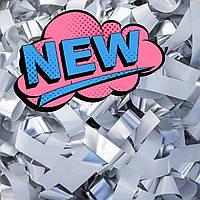 Бумага для Бумажного Шоу Бело-Серебряные Премиум, фото 1