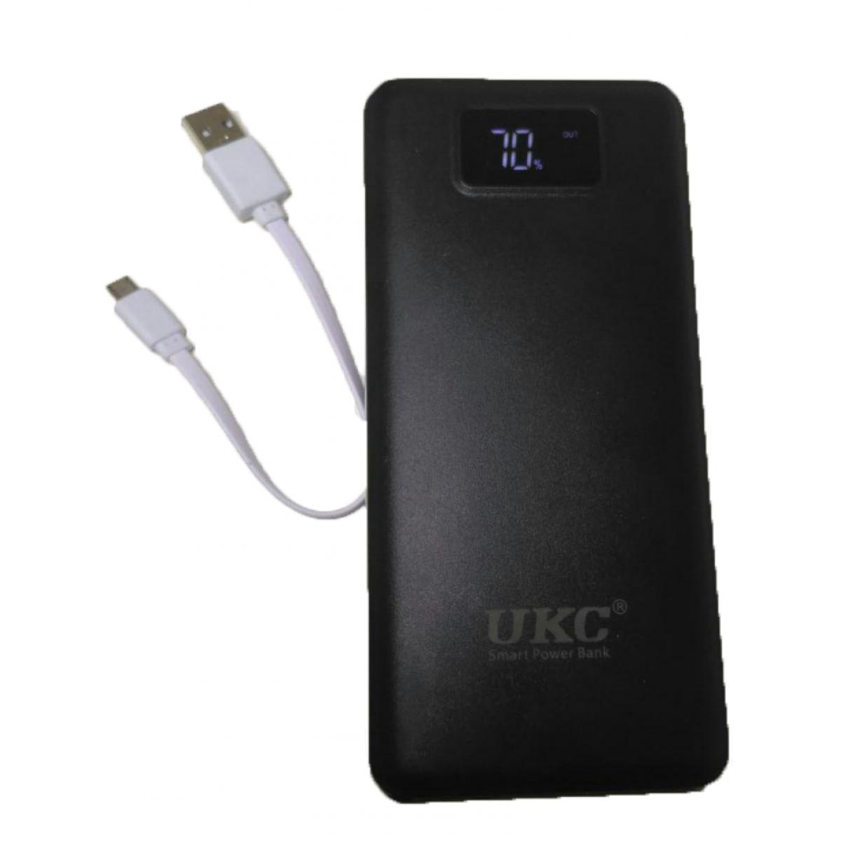 Самый мощный в Украине аккумулятор Power Bank UKC K8 990000 mAh c LCD дисплеем на 3 usb Black