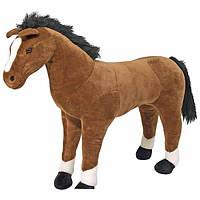 Гигантская плюшевая лошадь 1 м Melissa&Doug Horse Plush MD12105, фото 1
