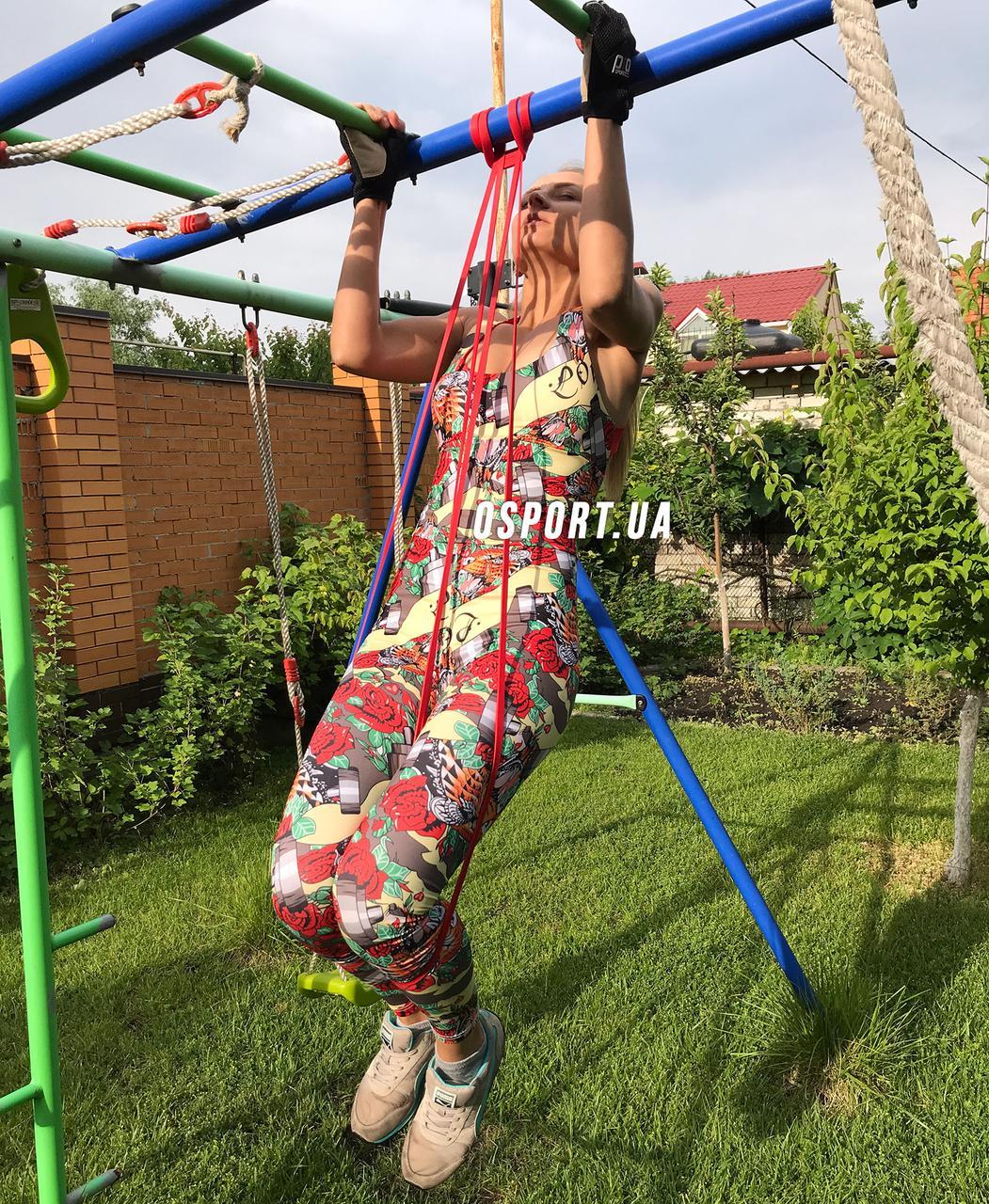Эспандер резиновый спортивный (резинка для фитнеса, подтягивания, турника) 208х1.3см Profi (MS 1844)