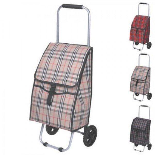 c5e9ba4b9547 Тележка (сумка кравчучка) на колесиках (тачка хозяйственная) тканевая 80см  Stenson (MH