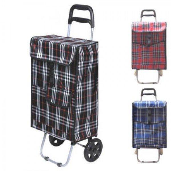 805dae74f8d9 Тележка (сумка кравчучка) на колесиках (тачка хозяйственная) тканевая 92см  Stenson (MH
