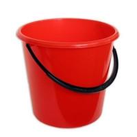 Ведро пластиковое цветное (10 л)