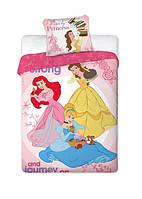 Комплект постельного белья 1053 Faro 6046 Синий, Розовый, Желтый