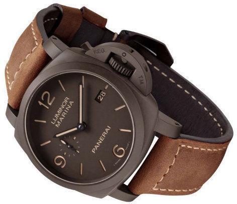 Стильные мужские часы Luminor Panerai