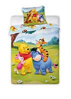 Комплект постельного белья Детский NR 1017 Faro 6244 Зеленый, Желтый