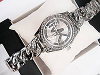 Женские кварцевые наручные часы Michael Kors Diamond Link, Silver, фото 1
