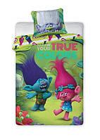 Комплект постельного белья Детский NR 1217 Faro 0876 Розовый, Зеленый