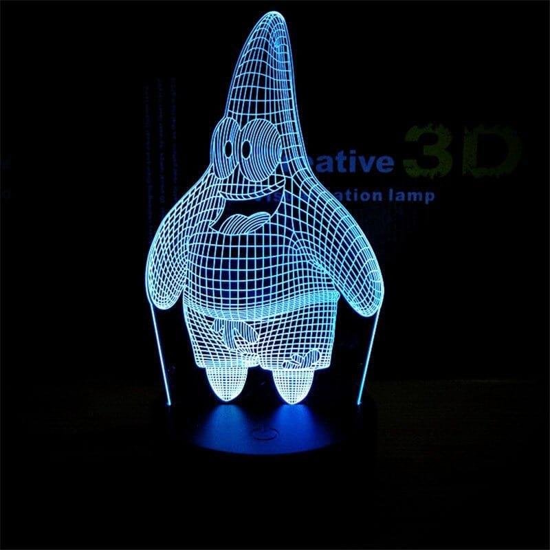 Сменная панель для 3D светильника 3D Lamp Патрик (SP-3178)