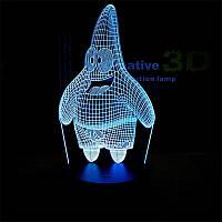 Сменная панель для 3D светильника 3D Lamp Патрик (SP-3178), фото 1