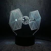 Сменная панель для 3D светильника 3D Lamp TIE (SP-3164), фото 1
