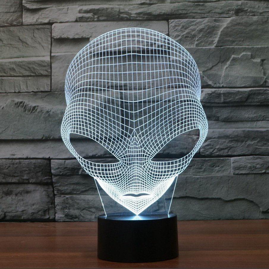 Сменная панель для 3D светильника 3D Lamp Инопланетянин (SP-3158)