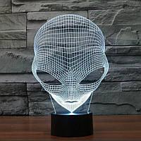 Сменная панель для 3D светильника 3D Lamp Инопланетянин (SP-3158), фото 1