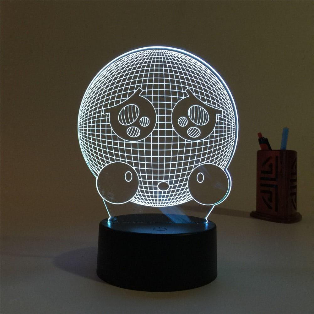 Сменная панель для 3D светильника 3D Lamp Емоджи (SP-3150)