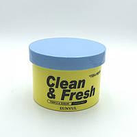 Очищающие подушечки с кислотами AHA и BHA Eunyul Clean & Fresh - Pimple & Sebum Clear Pad - 70 шт.